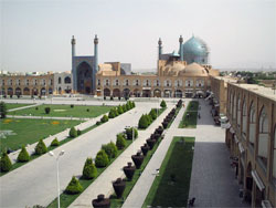 Shah Mosque in Iran.