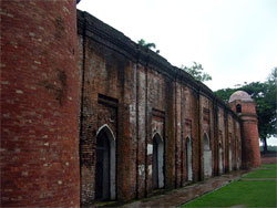 Sixty Dome Mosque in Bangladesh.