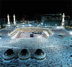 The Sacred Mosque in Mecca