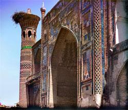 Ulugh Beg Madrasa in Uzbekistan
