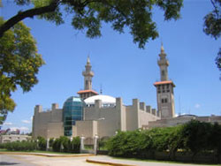 King Fahd Islamic Cultural Center.