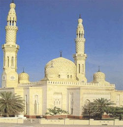 Jumeirah Mosque in Dubai.