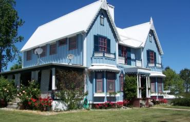 Story Book Victorian Home on 21 Acres, with Pomegranate Orchard & Horse Facilities