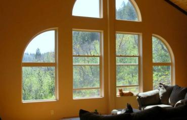 6.5 Acres Bordered by Natl. Forest Mtn. Home with Beautiful Views