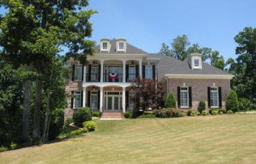 Executive home on 18th Fairway, Douglasville, GA