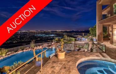 LUXURY ABSOLUTE AUCTION - N. SCOTTSDALE/CAREFREE, AZ - MARCH 3
