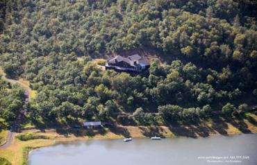 Eagle Point Ranch Estate with private lake
