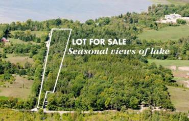 11 ACRES WITH SEASONAL PUSLINCH LAKE VIEWS (45 MIN TO TORONTO)