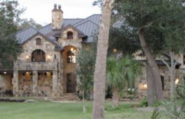 Florida Equestrian stone home