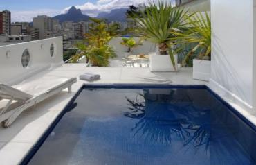 Rio de Janeiro- Luxury 300 sq m Penthouse in Ipanema with Swimming Pool