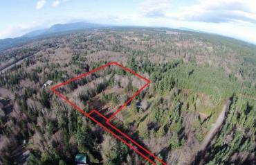 Qualicum North Treed Lot - Ohiat Rd