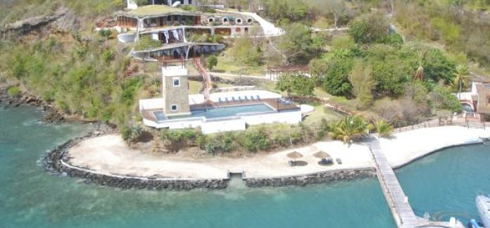Luxury Caribbean Beachfront Estate with private beach,swimming pool and dock FSBO BARGAIN