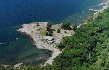 Georgian Bay waterfront, private, 5 minutes from Parry Sound, close to Muskoka Commercial .