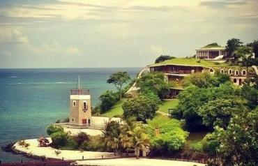 Luxury Caribbean Beachfront Estate with private beach,swimming pool and dock