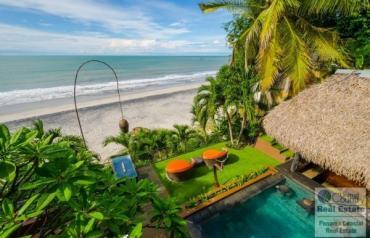 Villa Pantai Beach Front Luxury Home Playa Coronado