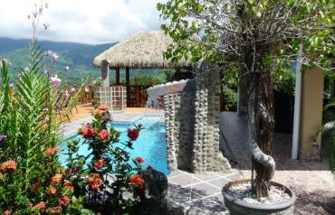 1904 360 degree Ocean/Mountain View, attractive guest house, main Home site +, Costa Rica, South Pacific, Ojochal more