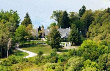 16 Acres and Custom Home on Puslinch Lake (45 Minutes to Toronto)