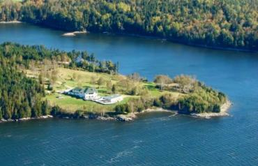 Private estate on the  banks of Oak Bay New Brunswick Canada
