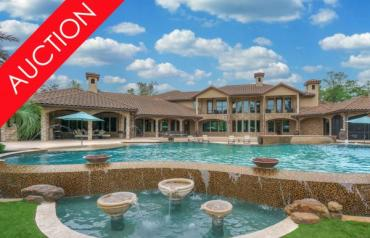 LUXURY ABSOLUTE AUCTION – SELLING WITH NO RESERVE – MAY 25TH