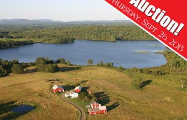 Idyllic Maine Waterfront Farm