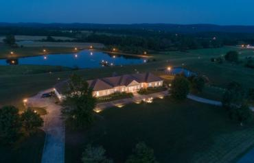 AUCTION - Luxury Home on 170± Acres with Licensed Private Airport