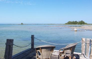 VERY EXCLUSIVE  .... LAKE HURON 5 BDRM YEAR-ROUND 2-STOREY STONE COTTAGE INCLUDING SUMMER COTTAGE & WORKSHOP