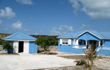Salt Cay Blue House