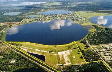48+ Acres with 2600+ feet of Lake Frontage in Highlands County, Florida - Calling for all Offers