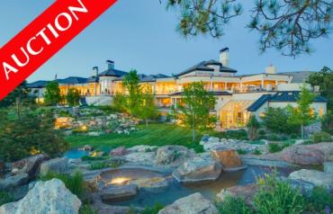 Colorado Luxury Mansion To Sell at No Reserve Auction - Sept 27