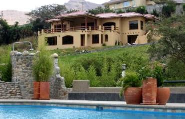 Vilcabamba Mountain Villa in Ecuador