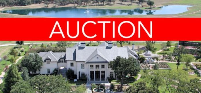 Luxury Texas No Reserve Auction - JUNE 30