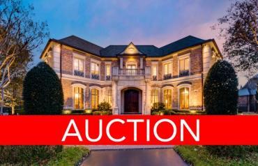 LUXURY NO RESERVE AUCTION - DALLAS - AUGUST 30