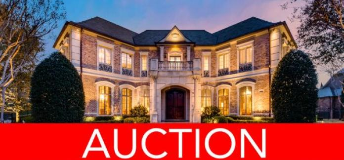 LUXURY NO RESERVE AUCTION - DALLAS - AUGUST 30