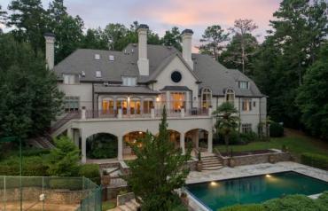 Auction: Luxury Gated Estate on 3.27± Acres in Sandy Springs (Atlanta), GA