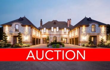 TX Luxury Home Auction Oct 11 - Colleyville, DFW