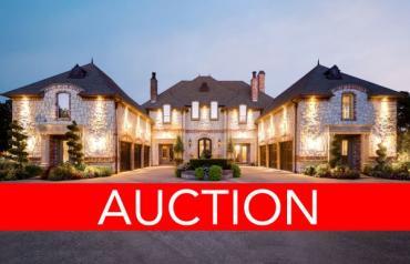 TX Luxury Home Auction Oct 11 - Colleyville, DFW