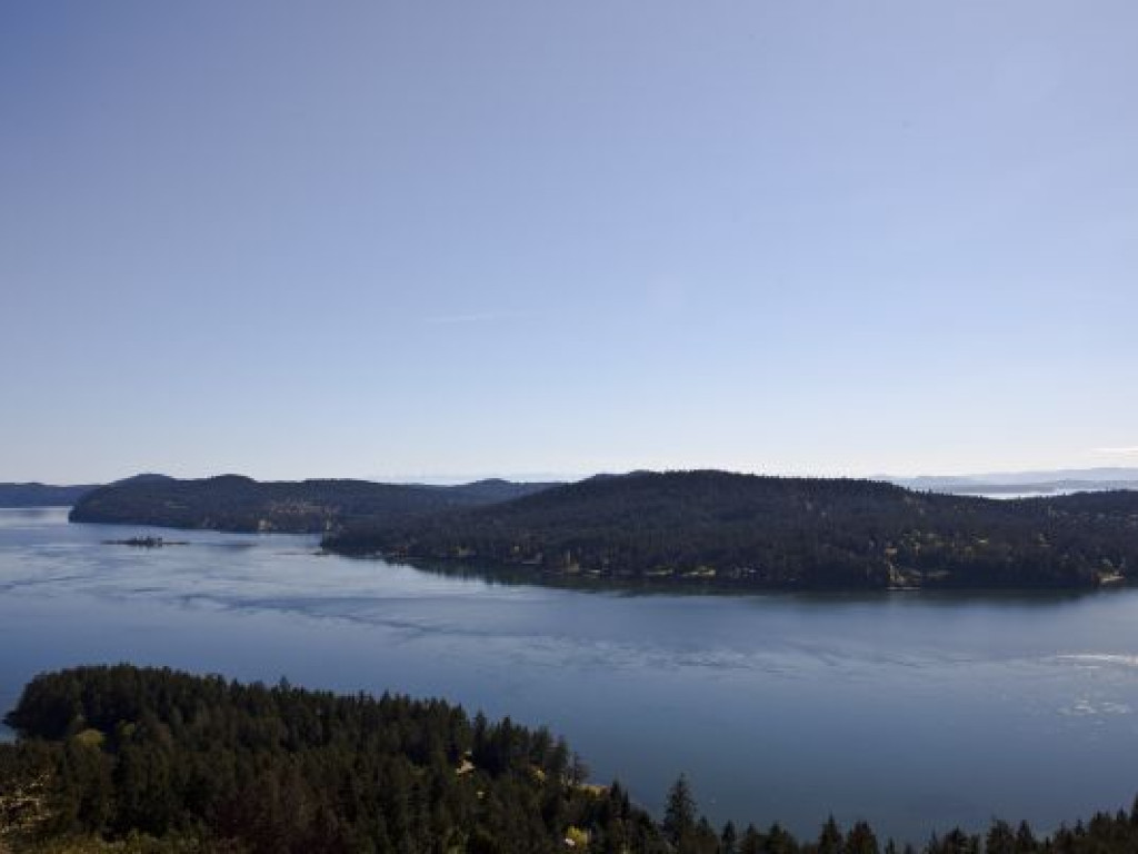 Southern Gulf Islands Hill Top Ocean View Home On Mayne