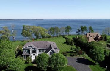 AUCTION: Oceanfront Home / Mid-Coast Maine