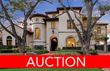 LUXURY NO RESERVE AUCTION - HOUSTON, TX - APRIL 27