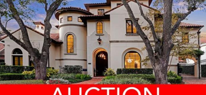 LUXURY NO RESERVE AUCTION - HOUSTON, TX - APRIL 27