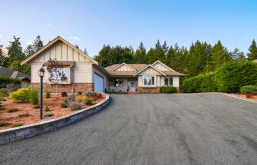 Qualicum North with Shop & Suite - Wildwood Rd