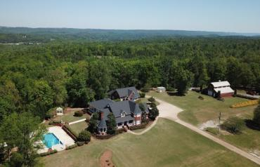 AUCTION - Live & Online: Residence / Events Venue with Luxury Home, Guest Home and Barn on 10± Scenic Acres