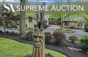 Rare Auction - Sewickley, PA Luxury Estate - July 8th - 10th