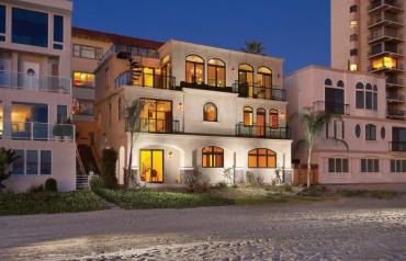 HUGE PRICE REDUCTION!!! ON THE SAND for UNDER $2.5 Million...Custom Mediterranean-Style Home