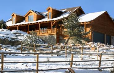 Mountain Log Home Retreat