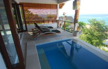 Luxury villa in beautiful Nusa Lembongan, Bali.