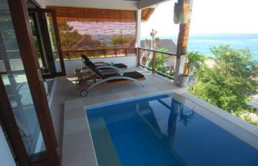 Luxury villa in beautiful Nusa Lembongan, Bali.