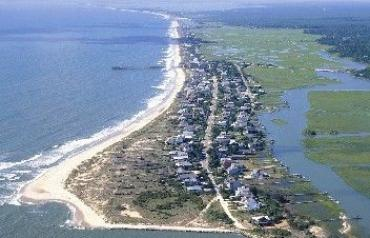 Pawley's Island, South Carolina ocean and creek front lots