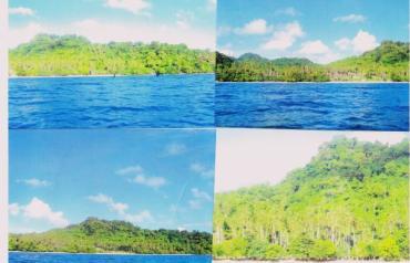 Fijian tropical paradise