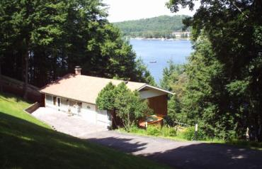 4 season lake front home